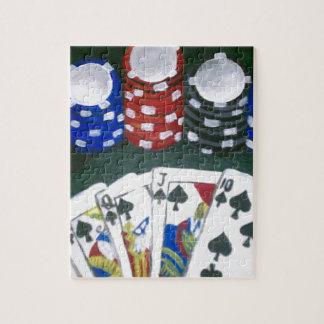 Noche del póker rompecabezas