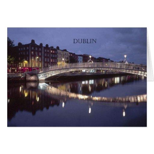 Noche del puente de Irlanda Dublín (St.K) Tarjetas