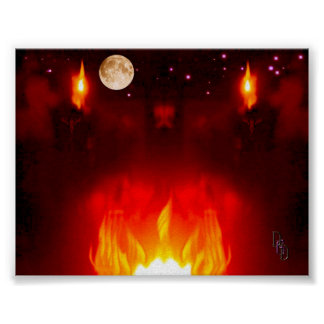 Noche del solsticio posters