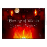 Noche del solsticio tarjetas
