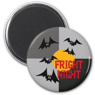 Noche del susto de Halloween Imanes Para Frigoríficos