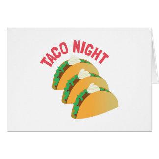 Noche del Taco Felicitacion