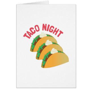 Noche del Taco Felicitaciones