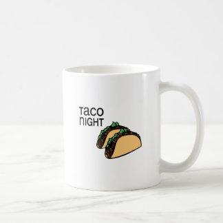Noche del Taco Taza De Café