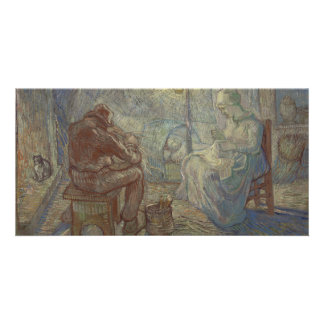 Noche después del mijo de Vincent van Gogh Tarjeta Fotográfica