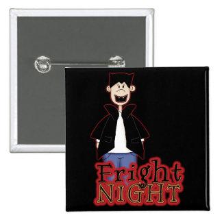 Noche Drácula Halloween del susto Pins