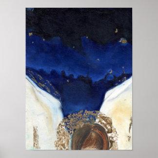 Noche el ángel consiguió sus alas 2014 póster