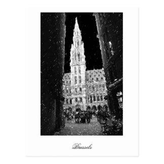 Noche en el lugar magnífico, Bruselas Postales