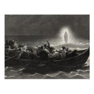 """""""Noche en el mar postal de Galilea"""""""