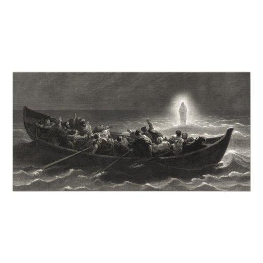 """""""Noche en el mar tarjetas de la foto de Galilea"""" Tarjetas Fotograficas"""