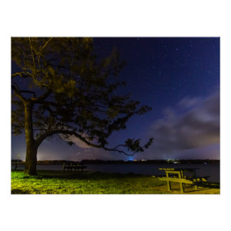 Noche en el terraplén impresiones