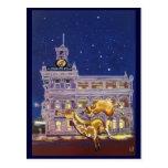 Noche en la ciudad - Rockhampton Tarjetas Postales