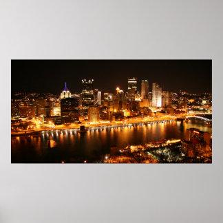 Noche en Pittsburgh Impresiones