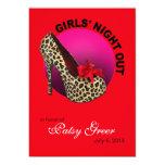 Noche enrrollada de los chicas del estilete del comunicado