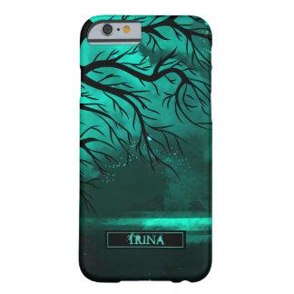 Noche esmeralda, modificada para requisitos funda de iPhone 6 barely there