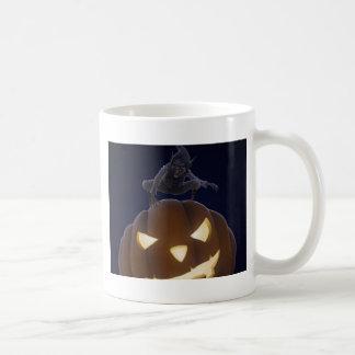 Noche espeluznante de Halloween Taza De Café
