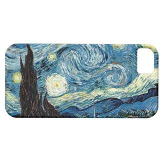 Noche estrellada - caso de Barely There del iPhone Funda Para iPhone SE/5/5s