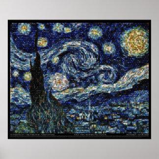 Noche estrellada de Hubble 24 x20 Impresiones