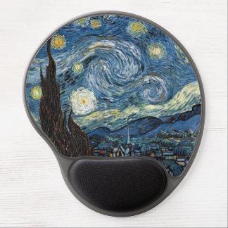 Noche estrellada de Van Gogh Alfombrilla Para Ratón De Gel