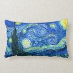 noche estrellada de Van Gogh Almohada