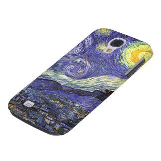 Noche estrellada de Van Gogh, arte del paisaje del Funda Para Galaxy S4