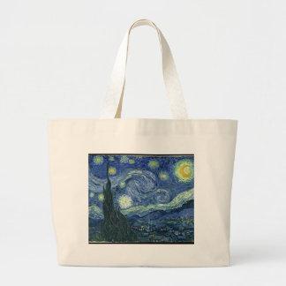 Noche estrellada de Van Gogh Bolsa