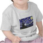 Noche estrellada de Van Gogh Camiseta
