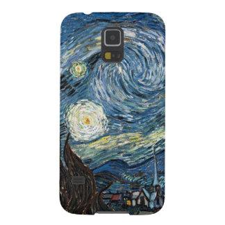 Noche estrellada de Van Gogh Carcasas Para Galaxy S5