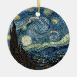 Noche estrellada de Van Gogh Ornamentos Para Reyes Magos