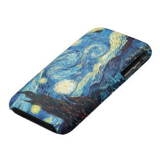 Noche estrellada de Van Gogh Case-Mate iPhone 3 Fundas
