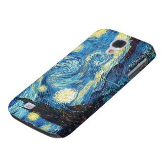 Noche estrellada de Van Gogh Funda Para Galaxy S4