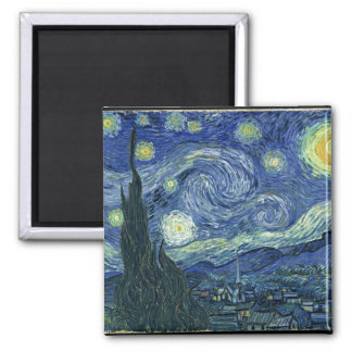 Noche estrellada de Van Gogh Imán Para Frigorifico