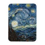 Noche estrellada de Van Gogh Imanes De Vinilo