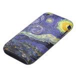 Noche estrellada de Van Gogh, impresionismo del po iPhone 3 Tough Carcasa