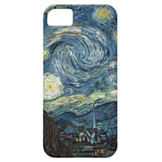 Noche estrellada de Van Gogh iPhone 5 Carcasa