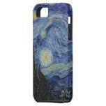 Noche estrellada de Van Gogh iPhone 5 Cárcasas