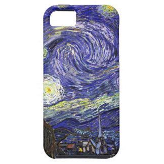 Noche estrellada de Van Gogh iPhone 5 Carcasas