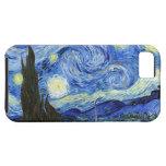 Noche estrellada de Van Gogh iPhone 5 Coberturas