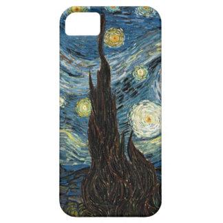 Noche estrellada de Van Gogh iPhone 5 Funda