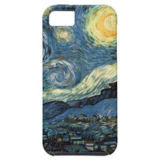 Noche estrellada de Van Gogh iPhone 5 Fundas