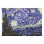Noche estrellada de Van Gogh Manteles