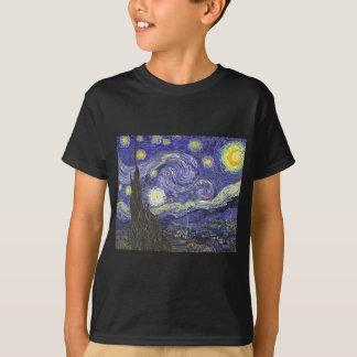 Noche estrellada de Van Gogh, paisaje de la bella Playeras