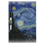 noche estrellada de Van Gogh Pizarra