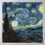 Noche estrellada de Van Gogh Posters