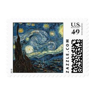 Noche estrellada de Van Gogh Sellos