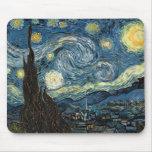 Noche estrellada de Van Gogh Tapete De Ratón