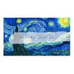Noche estrellada de Van Gogh Tarjetas De Visita