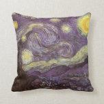 Noche estrellada de Vincent van Gogh Almohada