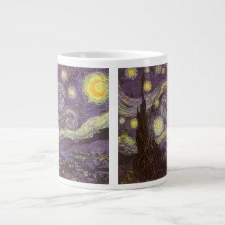 Noche estrellada de Vincent van Gogh, bella arte Taza Grande