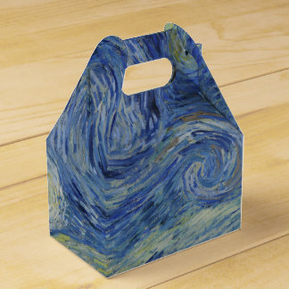 Noche estrellada de Vincent van Gogh Cajas Para Regalos
